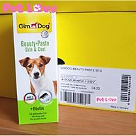 Gel dinh dưỡng chứa vitamin, hỗ trợ miễn dịch, đẹp da lông cún (GimDog, Đức) thumbnail