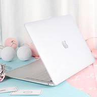 Case, ốp dành cho Macbook - Trong suốt [Tặng kèm nút chống bụi Macbook - Màu ngẫu nhiên] - Hàng chính hãng thumbnail