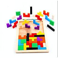 Đồ chơi gỗ - Bộ xếp gạch thumbnail