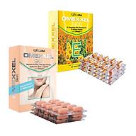 Bộ thực phẩm chức năng viên uống bổ sung Vitamin E, giảm thâm nám Omexxel E400 & Skin 60 viên thumbnail