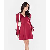 HNOSS Đầm cổ tim 80% Polyester 20% Coton CMS12101038 thumbnail