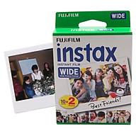 Phim Máy Ảnh Fujifilm INSTAX Cỡ Lớn - Trắng thumbnail
