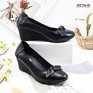 Giày nữ - giày da nữ da bò cao siêu mềm và êm chân kiểu dáng lịch sự đứng đắn rất hợp người trung tuổi (NU05-ND) thumbnail