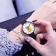 Đồng hồ thời trang nam nữ Candycat dây silicon mặt Vịt Kute SC356,dây silicon mặt kính,phù hợp cho mọi lứa tuổi thumbnail