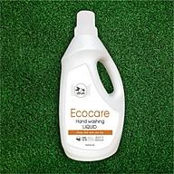 Nước Rửa Tay Bồ Hòn Hữu Cơ ECOCARE 1 lít - Sạch khuẩn, chăm sóc da tay, tinh dầu khử mùi - Mẫu mới 2020 thumbnail