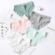 Quần lót nữ, quần mặc trong váy cotton co dãn mềm mịn M01 (4 quần) thumbnail