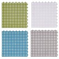 Bộ 4 tấm thảm ghép chống trượt phòng tắm 30x30cm (Màu ngẫu nhiên) thumbnail