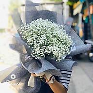 Bó hoa tươi Baby Trắng - Bông Gòn thumbnail
