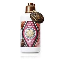Dầu Dừa Hữu Cơ Tự Nhiên Aroma Organic Virgin Coconut Body Oil - Hương Hoa Hồng thumbnail
