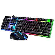 Bộ bàn phím và chuột chuyên Game G21B Led 7 màu led nền và led phím với 3 màu có thể thay đổi và tắt mở Phù hợp với nhiều loại hệ điều hành khác nhau, nhiều cấu hình máy của PC hoặc laptop thumbnail