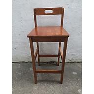 Ghế quầy bar lưng tựa gỗ cao su - TC205 thumbnail