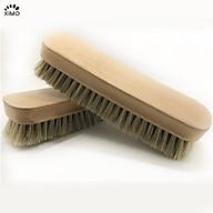 Bàn chải vệ sinh giày lông ngựa gỗ sồi cao cấp cỗ lớn chuyên dụng XIMO (XBCDG20-A7) thumbnail
