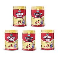 BỘ 5 LON SỮA BỘT VINAMILK DIELAC GROW PLUS 1+ 900G (CHO TRẺ TỪ 1 - 2 TUỔI) thumbnail