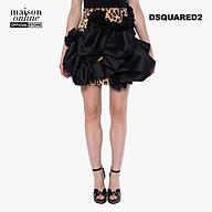 DSQUARED2 - Chân váy mini da beo phối bèo S73MA0434-001S thumbnail