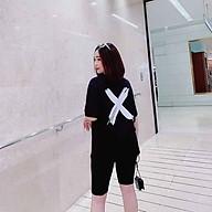 đồ bộ nữ quần lửng mặc nhà trẻ trung thumbnail
