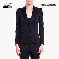DSQUARED2 - Áo blazer nữ phối túi gập Slim Fit S75BN0538-900 thumbnail