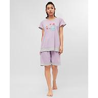 Đồ bộ ngủ Sayhome Z790GA-FTI màu tím thumbnail