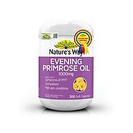 Viên uống tinh dầu hoa anh thảo Nature s Way Evening Primrose Oil 1000Mg thumbnail