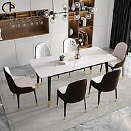 Bộ bàn mặt đá cao cấp 6 ghế Monet nhập khẩu thumbnail