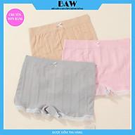 Bộ 3 Quần Mặc Váy Chất Liệu Cotton Tinh Tế Lót May Chống Viêm, Quần Chip Nữ Kháng Khuẩn Cao Cấp Thương Hiệu BAW NT726 thumbnail