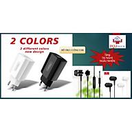 (TẶNG TAI NGHE NGẪU NHIÊN) Củ sạc đa năng 2 cổng USB - HÀNG CHÍNH HÃNG - Giao màu ngẫu nhiên thumbnail
