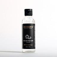 Dâ u dư a tinh khiết nguyên châ t herbario 110ml chiết xuất ép lạnh tự nhiên rất giàu dưỡng chất và vitamin tốt cho da và tóc môi thumbnail