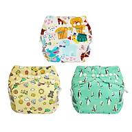 Combo 3 bộ tã vải Ngày Siêu chống tràn BabyCute size S, M, L - Giao mẫu ngẫu nhiên thumbnail