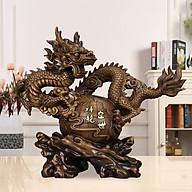 Tượng phi long rồng bay quà tặng trang trí nhà cửa vật phẩm phong thủy thumbnail