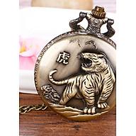 Đồng hồ quả quýt dây chuyền 12 con giáp DẦN- DH13 SIZE LỚN thumbnail