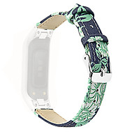 Follure Leather Watch Replacement Strap For Samsung Galaxy fit-e R375+ Metal Frame thumbnail