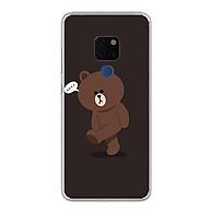 Ốp lưng dẻo cho Huawei Mate 20 - 0085 GAUBROWN01 - Hàng Chính Hãng thumbnail