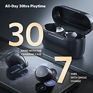 Tai nghe True Wireless Earfun Free 2 - Thế hệ mới nhất, Chip Qualcomm QCC3040, Bluetooth 5.2 hỗ trợ aptX, Độ trễ 60ms, Chống nước IPX7, Pin 30h sạc nhanh chuẩn Qi- Hàng chính hãng thumbnail
