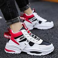 Giày nam cổ cao, giày bốt nam phối chữ phong cách, thời trang AVI - 386 thumbnail