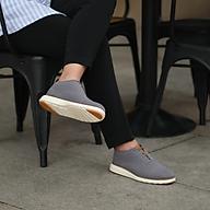Giày cà phê nam - COFFEE CAPTOE OXFORD - Xám thumbnail