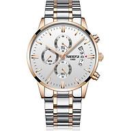 Đồng hồ nam Nibosi dây thép đúc lịch ngày JS-2309S thumbnail