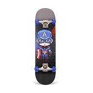 Ván trượt Skateboard Bensai 10 dành cho trẻ em và người lớn trên 6 tuổi có thể chịu được trọng lượng lên đến 75kg thumbnail