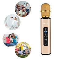 Micro không dây di động cho điện thoại thông minh loa karaoke chất lượng cao hai trong một mic sound card tích hợp - Hàng Chính Hãng thumbnail