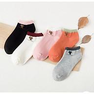 Bộ 5 đôi tất nữ ngắn cổ - Hàng cao cấp Vinbuy thumbnail