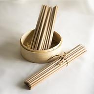 Đũa ăn làm từ gỗ Kim Giao ( Bộ 10 đôi) thumbnail