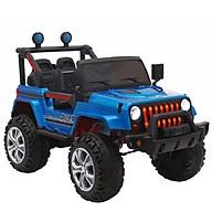 Ô tô xe điện địa hình JEEP 5668 đồ chơi cho bé 2 chỗ tự lái và điều khiển (Đỏ-Trắng-Xanhdương-Xanh lá) thumbnail