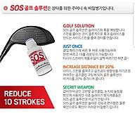 Lọ Bôi Mặt Gậy Golf SOS Hỗ Trợ Kỹ Thuật Đánh Golf Giúp Bóng Golf Đi Xa Và Thẳng Chống Sile OB Hook thumbnail