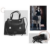 Túi xách nữ - Túi xách công sở - túi siêu tiện dụng - ngăn chứa đồ thoải mái - Sang chảnh - giá tốt - Hàng nhập - Đen thumbnail