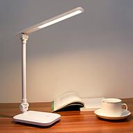 Đèn Bàn Học LED USB Di Động Cao Cấp - Đèn Làm Việc Sang Trọng Để Bàn Chống Chói Mắt Bảo Vệ Mắt - Có Thể Gập Hai Chỗ 03 Chế Độ Ánh Sáng Vàng Bảo Vệ Mắt Chống Cận - Hàng Chính Hãng - VinBuy thumbnail