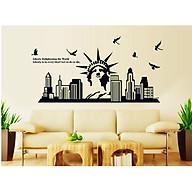 Decal dán tường phát sáng NewYork ABQ9622 thumbnail