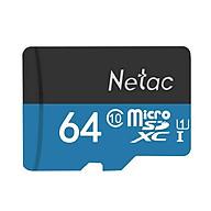 Thẻ nhớ Netac 64Gb Class 10 chuyên camera - Hàng nhập khẩu thumbnail