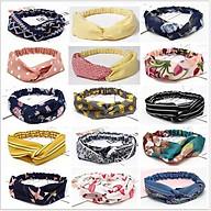 Băng đô Turban nữ vải họa tiết - Combo 3 sản phẩm (ngẫu nhiên) thumbnail