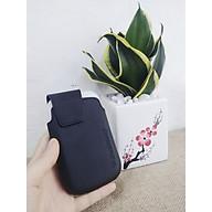 Bao Da Đeo Lưng Cho Máy Blackberry Bold 9900 9930 Màu Đen - Hàng Nhập Khẩu thumbnail
