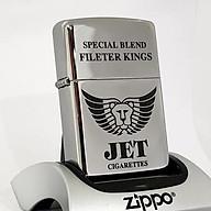 Bật lửa Zippo Chrome JET trơn (Chrome trắng bạc) - Zippo Fullbox thumbnail