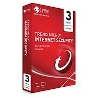 Phần Mềm Diệt Virus Trend Micro Internet Security Bản Quyền 3PC 12 Tháng - Hàng chính hãng thumbnail