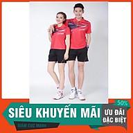 Bộ quần áo thể thao Cầu Lông Liingg nam, nữ vải lưới thái thấm hút mồ hôi thumbnail